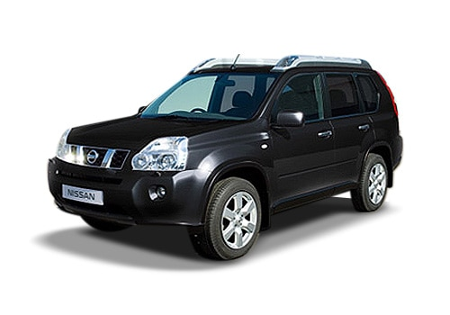 Nissan X-Trail Black Color Pictures