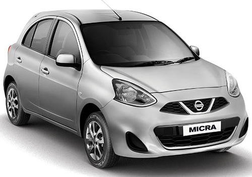 Nissan Micra Blade Silver Color Picture