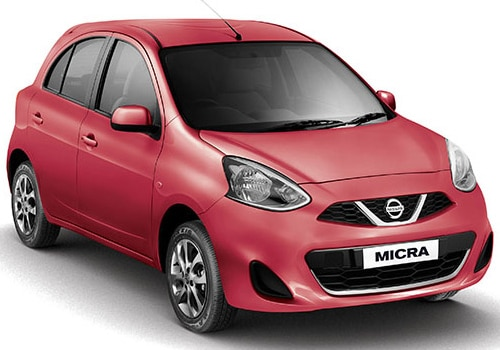 Nissan Micra Brick Red Color