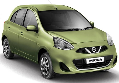 Nissan Micra Green Color Pictures