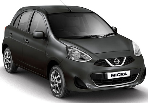Nissan Micra black Color Pictures