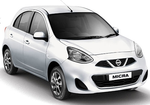 Nissan Micra White Color Pictures