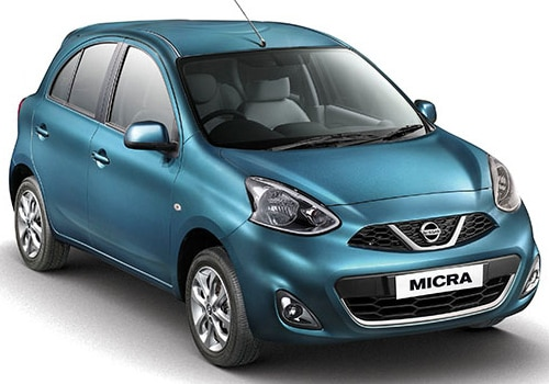 Nissan Micra Blue Color Pictures
