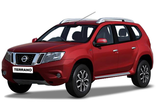 Nissan Terrano Red Color Pictures
