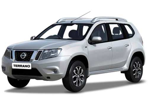 Nissan Terrano White Color Pictures