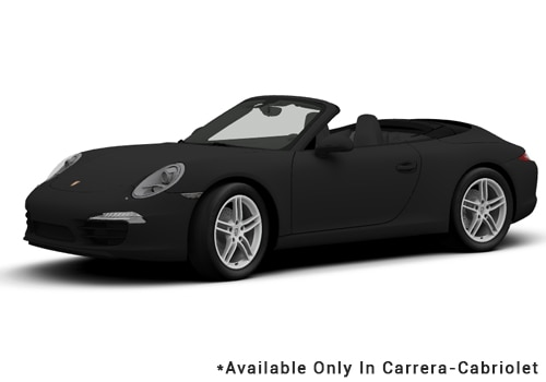 Porsche 911 Black - Cabriolet Color