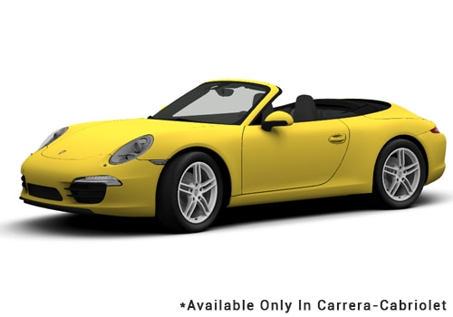 Porsche 911 Racing Yellow - Cabriolet Color