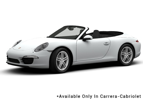 Porsche 911 White - Cabriolet Color