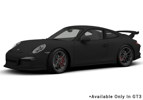 Porsche 911 Black - GT3 Color