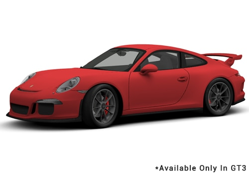 Porsche 911 Guards Red - GT3 Color