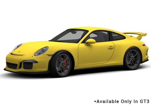 Porsche 911 Racing Yellow - GT3 Color