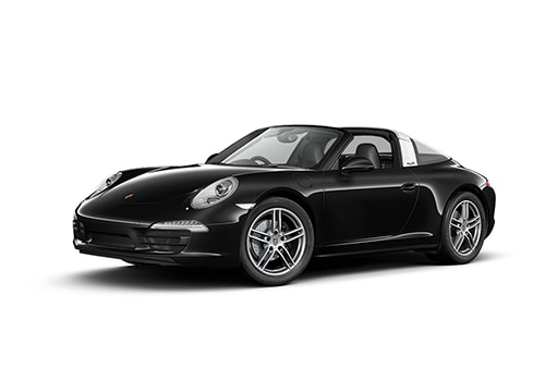 Porsche 911 Black Color