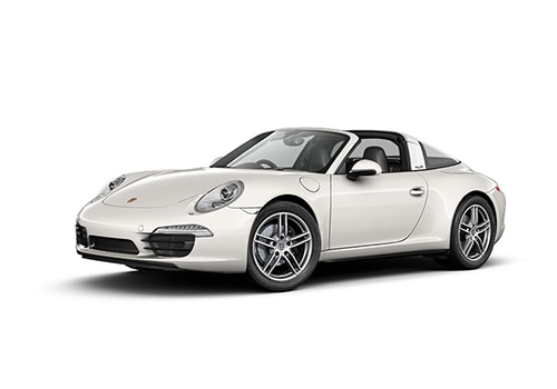 Porsche 911 White Color