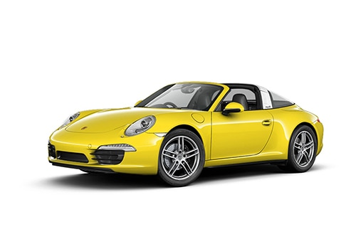 Porsche 911 Racing Yellow Color