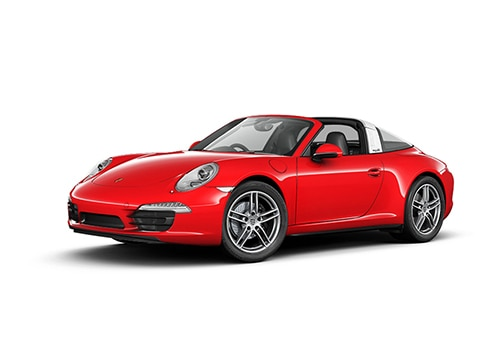 Porsche 911 Guards Red Color