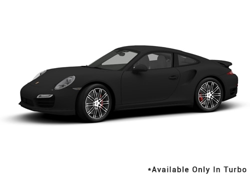 Porsche 911 Black - Turbo Color
