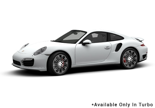 Porsche 911 White - Turbo Color