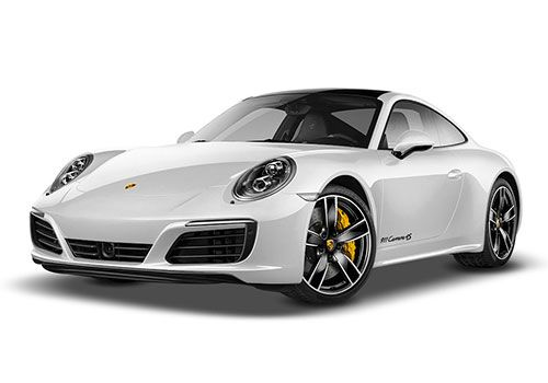 Porsche 911 Carrara White Color