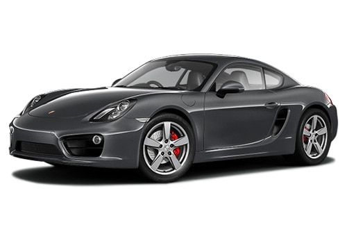 Porsche Cayman Grey Metalic Color Pictures
