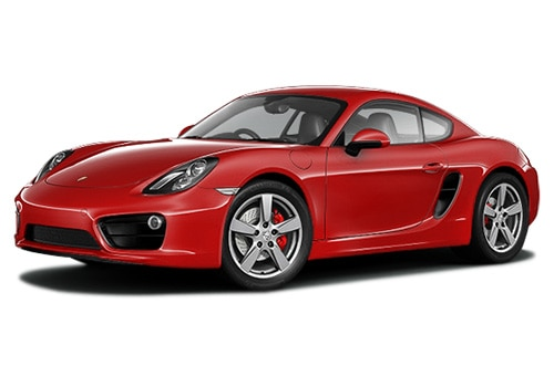 Porsche Cayman Red Color Pictures