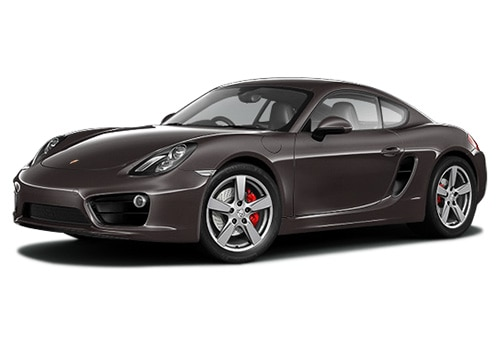 Porsche Cayman Brown Metallic Color Pictures