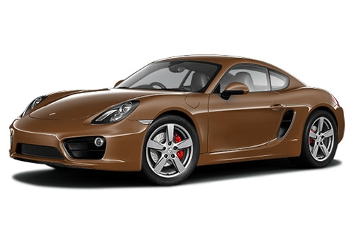 Porsche Cayman Cognac Color