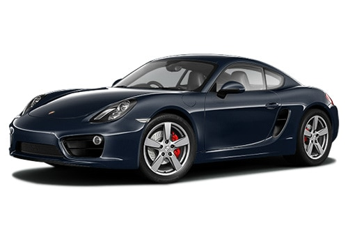 Porsche Cayman Dark Blue Metallic Color