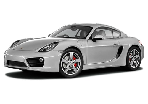 Porsche Cayman Metallic Silver Color Pictures