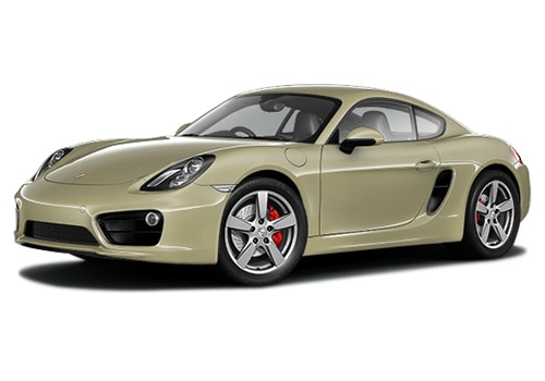 Porsche Cayman Lime Gold Metallic Color
