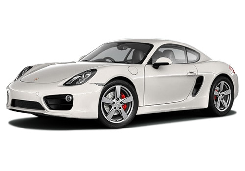 Porsche Cayman White Color Pictures
