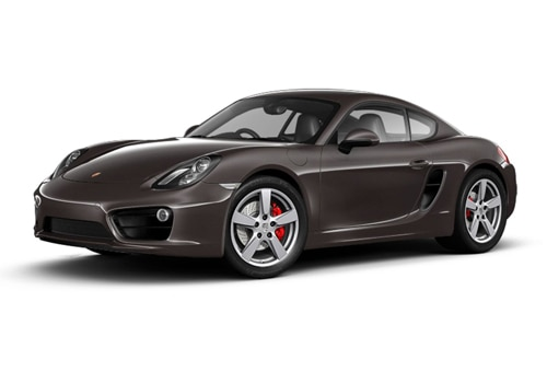 Porsche Cayman Anthracite Brown Metallic  e Color