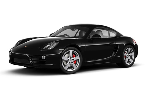 Porsche Cayman Black Color
