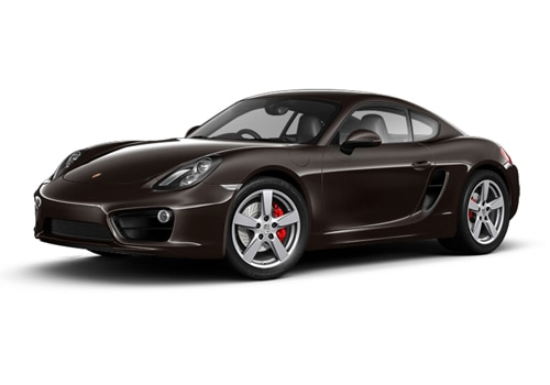 Porsche Cayman Mahogany Metallic Color
