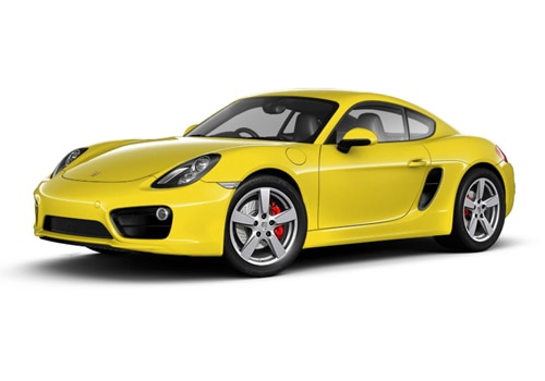 Porsche Cayman Racing Yellow Color