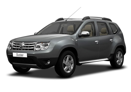 Renault Duster Metallic Grey Color Pictures