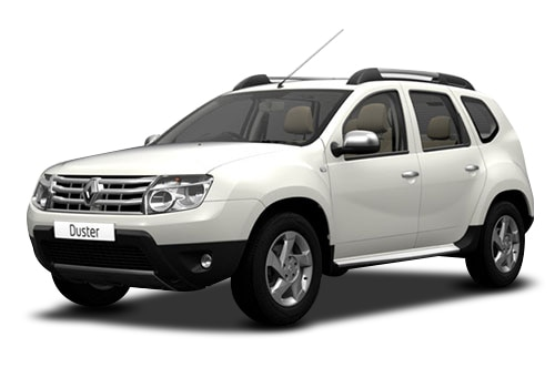 Renault Duster White Color Pictures