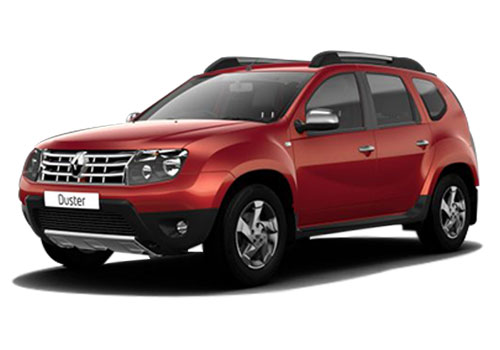 Renault Duster Metallic  Fiery Red Color