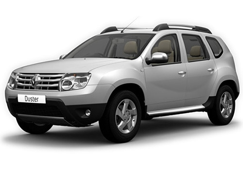 Renault Duster 2012-2015 Metallic  Moonlight Silver Color