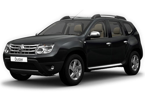 Renault Duster 2012-2015 Pearl Galaxy Black Color