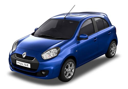 Renault Pulse Blue Color Pictures