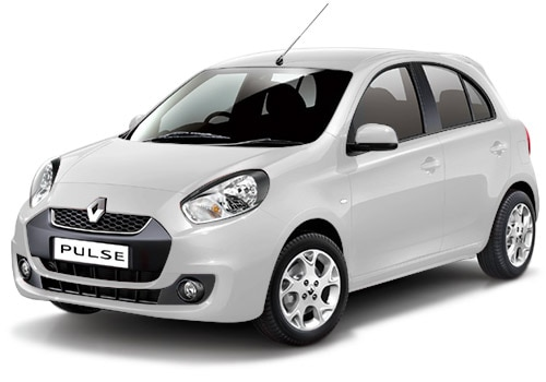 Renault Pulse White Color Pictures