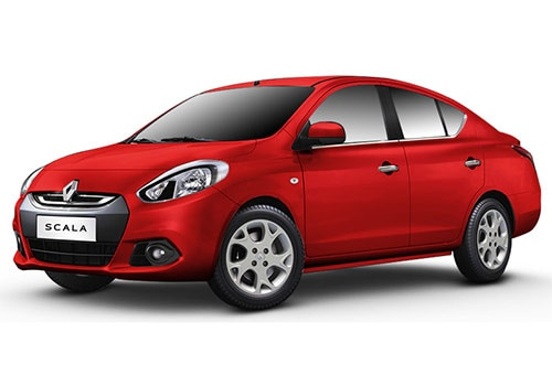 Renault Scala Metallic  Red Color