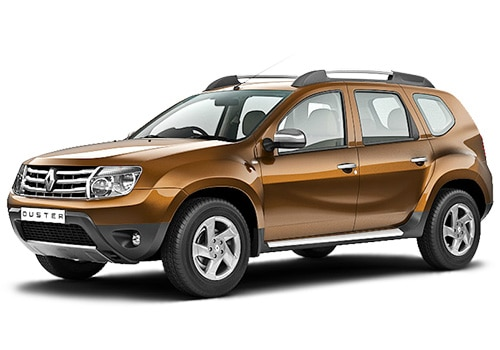 Renault Duster Metallic Brown Color Pictures