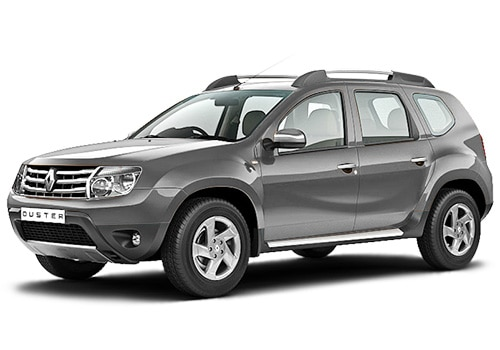 Renault Duster Silver Color Pictures