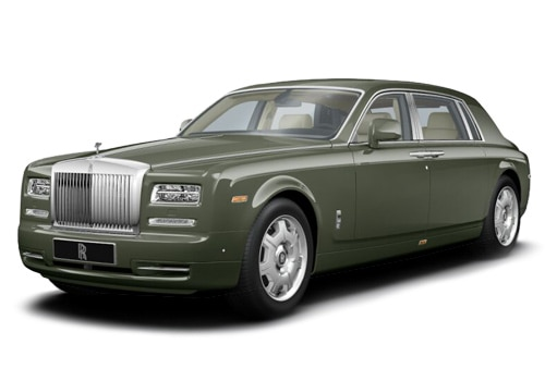 Rolls-Royce Phantom Green Color Pictures