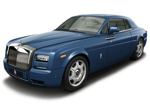 Rolls-Royce Phantom Metropolitan Blue Color