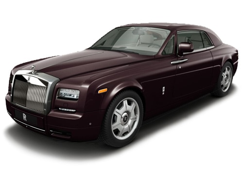 Rolls-Royce Phantom Madeira Red Color