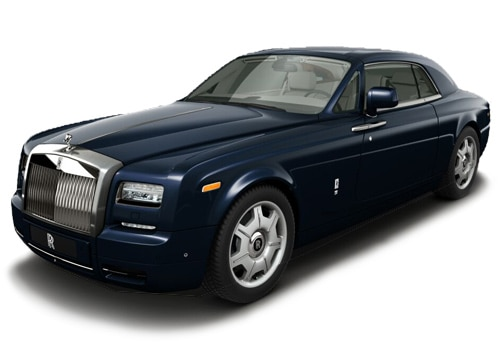 Rolls-Royce Phantom Midnight Blue Color