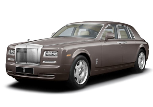 Rolls-Royce Phantom Sable Color Pictures