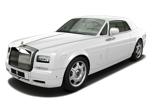 Rolls-Royce Phantom Arctic White Color